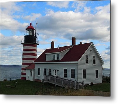 Quoddy Head Light Metal Print