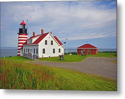 Quoddy Head Lighthouse Metal Print