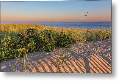 Race Point Beach Sunrise Metal Print by Bill Wakeley