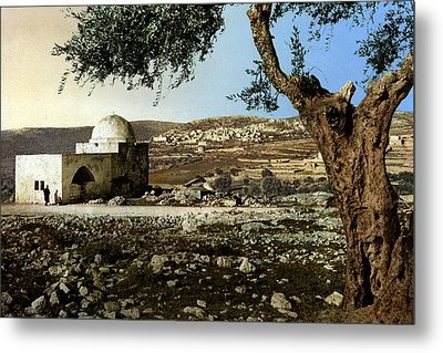 Rachel Tomb In Bethlehem Metal Print by Munir Alawi