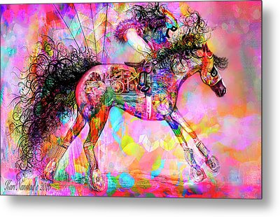 Racing For Time Metal Print