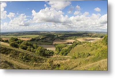 Rackham Hill To The North Downs Metal Print