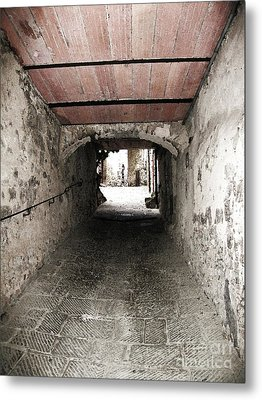 Radda Tunnel Metal Print by Linda Ryan