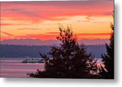Radiance At Sunrise Metal Print by E Faithe Lester