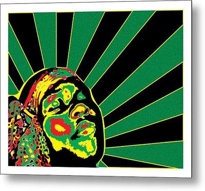 Radiant Soul  Metal Print by Jasmine Harris