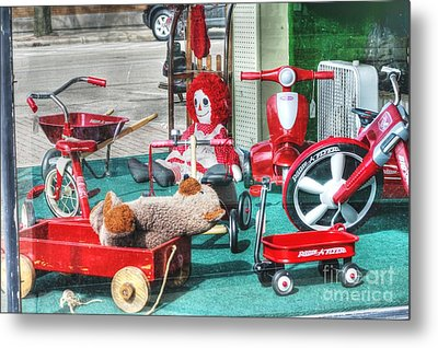 Radio Flyer Metal Print by David Bearden