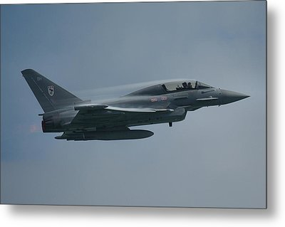 Metal Print featuring the photograph Raf Eurofighter Typhoon T1  by Tim Beach