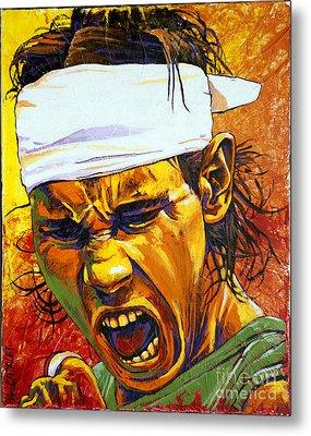 Rafael Nadal Metal Print