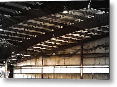 Metal Print featuring the photograph Rafters by Laura DAddona