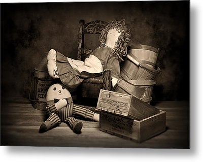 Rag Doll Metal Print by Tom Mc Nemar