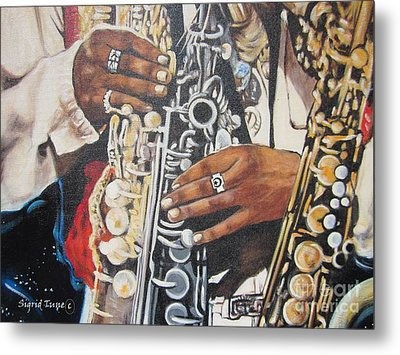 Rahsaan Roland Kirk- Jazz Metal Print