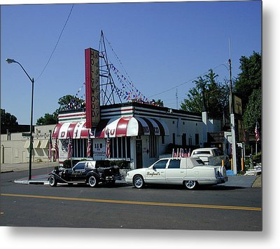Metal Print featuring the photograph Raifords Disco Memphis A by Mark Czerniec