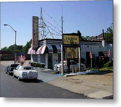 Metal Print featuring the photograph Raifords Disco Memphis B by Mark Czerniec