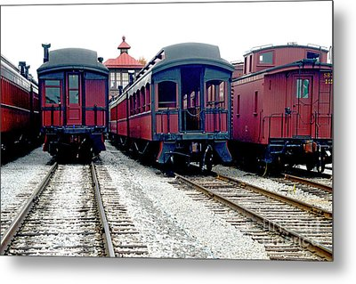 Metal Print featuring the photograph Rail Stock by Paul W Faust - Impressions of Light
