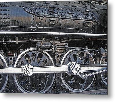 Railroad Museum 2 Metal Print by Steve Ohlsen