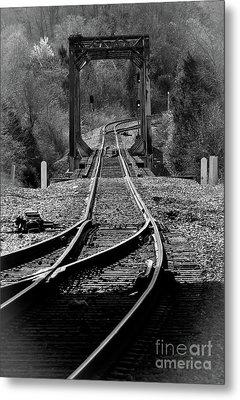 Rails Metal Print by Douglas Stucky
