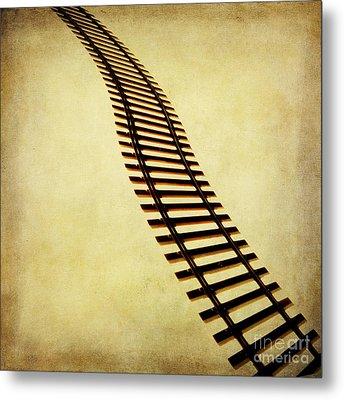 Railway Metal Print