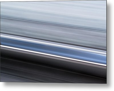 Metal Print featuring the photograph Railway Lines by John Williams
