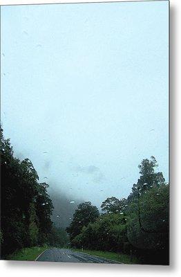 Rain Forest Rain Metal Print