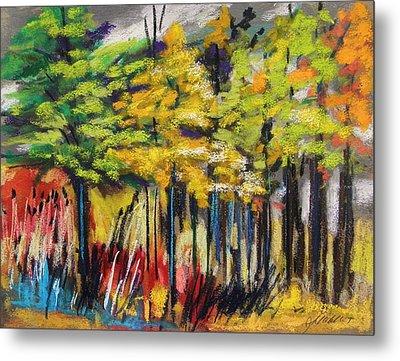 Rain In The Trees Metal Print by John Williams