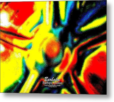 Metal Print featuring the photograph Rainbow Bliss #051347 by Barbara Tristan