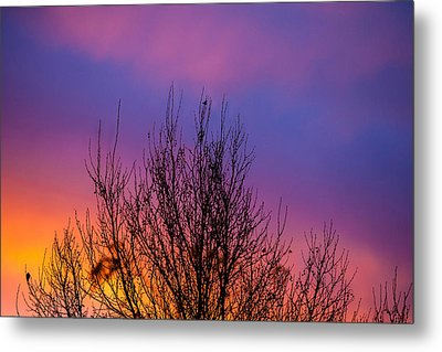 Rainbow Clouds Metal Print by Az Jackson