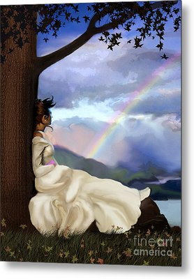 Rainbow Dreamer Metal Print by Robert Foster