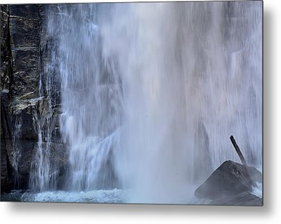 Rainbow Falls In Gorges State Park Nc Metal Print by Bruce Gourley