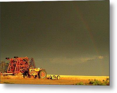 Rainbow Harvest.. Metal Print by Al  Swasey
