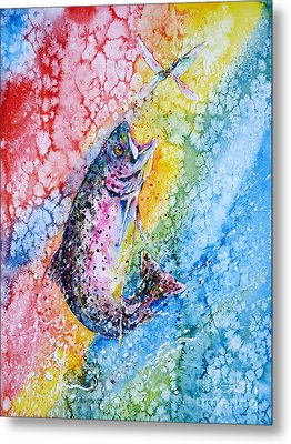 Rainbow Hunter Metal Print by Zaira Dzhaubaeva