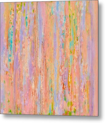 Spring Fusion Metal Print by Irene Hurdle