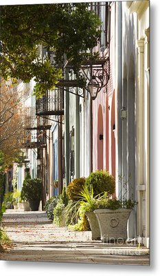 Rainbow Row Charleston Sc 2 Metal Print by Dustin K Ryan