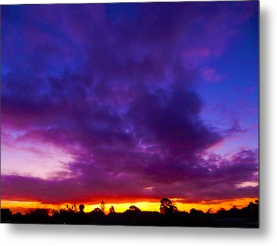 Rainbow Sunset Metal Print by Mark Blauhoefer