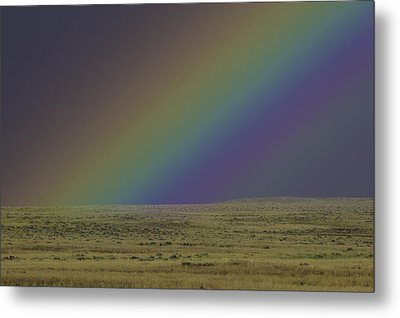 Rainbows End Metal Print