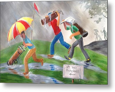 Rained Out Metal Print