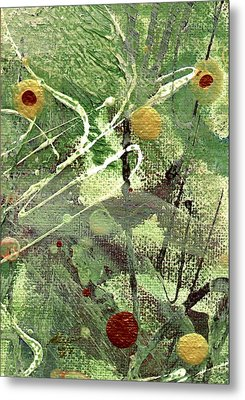 Metal Print featuring the mixed media Rainforest by Angela L Walker