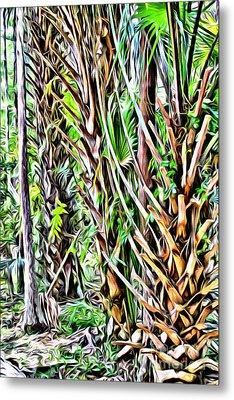 Rainforest Metal Print by Carey Chen