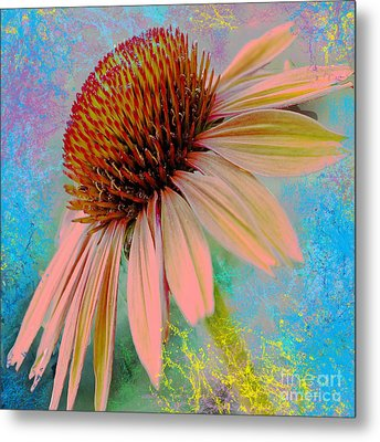 Raining Down Color Metal Print by Beverly Guilliams