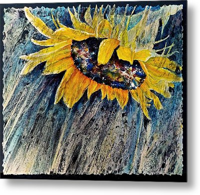 Rainswept Metal Print by Carolyn Rosenberger