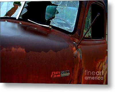 Rainy Day Chevrolet 4 Metal Print