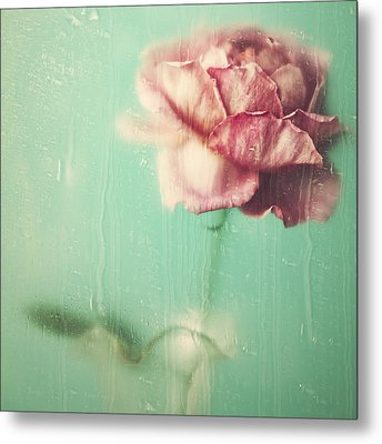 Rainy Day Romance Metal Print
