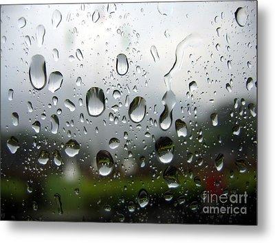 Rainy Day Metal Print by Yali Shi