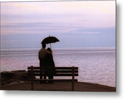 Rainy-may In Color Metal Print by John Scates