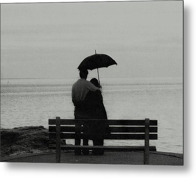 Rainy May  Metal Print by John Scates