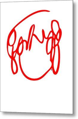 Ramona Flowers Red - Scott Pilgrim Vs The World Metal Print by Paul Telling