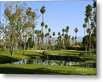 Rancho Mirage Golf Course Metal Print