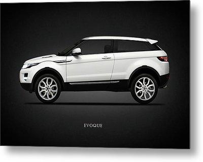 Range Rover Evoque Metal Print by Mark Rogan