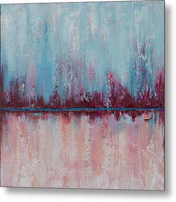 Raspberry Parfait Metal Print by Suzzanna Frank