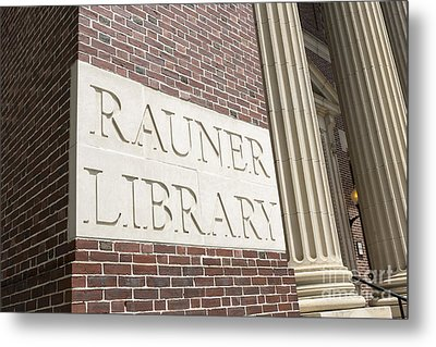 Rauner Library Dartmouth College Metal Print by Edward Fielding