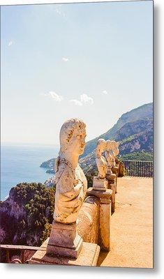Ravello Amalfi Coast Italy Metal Print by Ariane Moshayedi
